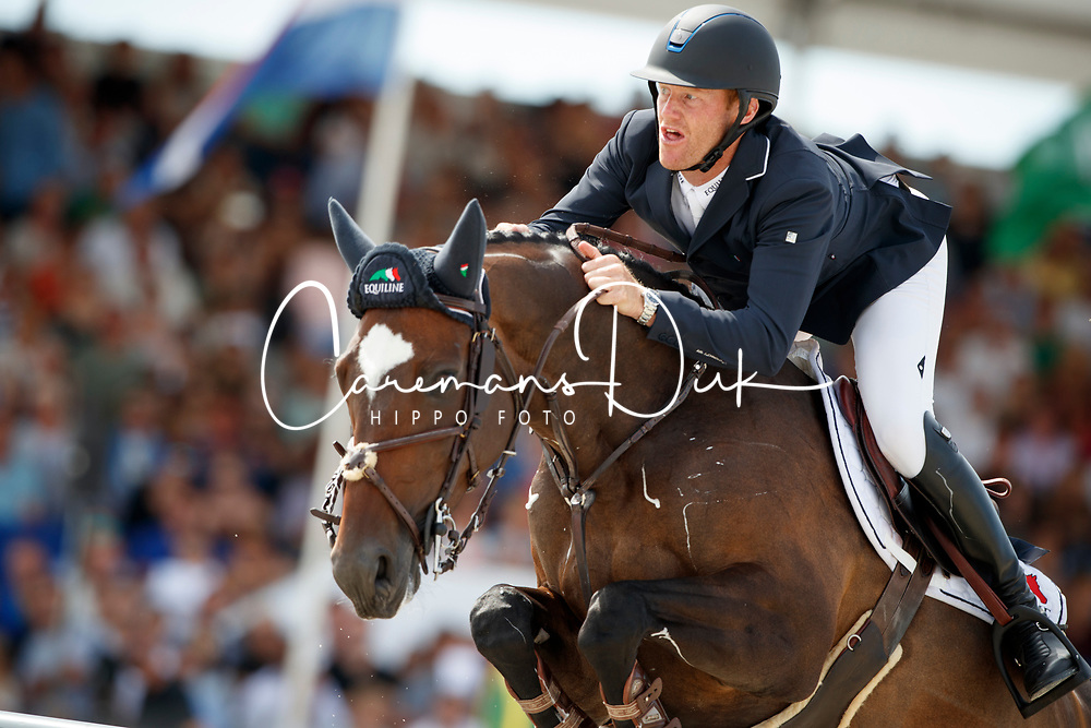 Bruynseels Niels, BEL, Cas de Liberte<br /> Rolex Grand Prix CSI 5* - Knokke 2017<br /> © Hippo Foto - Dirk Caremans<br /> 09/07/17