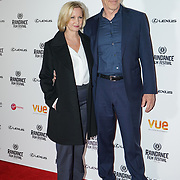 London, England, UK. 21th September 2017. Star J. K. Simmons and Director Michelle Schumacher attend Raindance Film Premiere of 'I'm Not Here', starring J.K. Simmons
