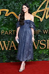 Lilah Parsons attending the Fashion Awards in association with Swarovski held at the Royal Albert Hall, Kensington Gore, London
