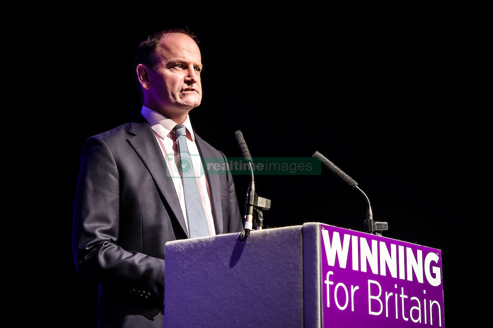 Ukip MP Douglas Carswell speaks at the Ukip conference in Bournemouth.