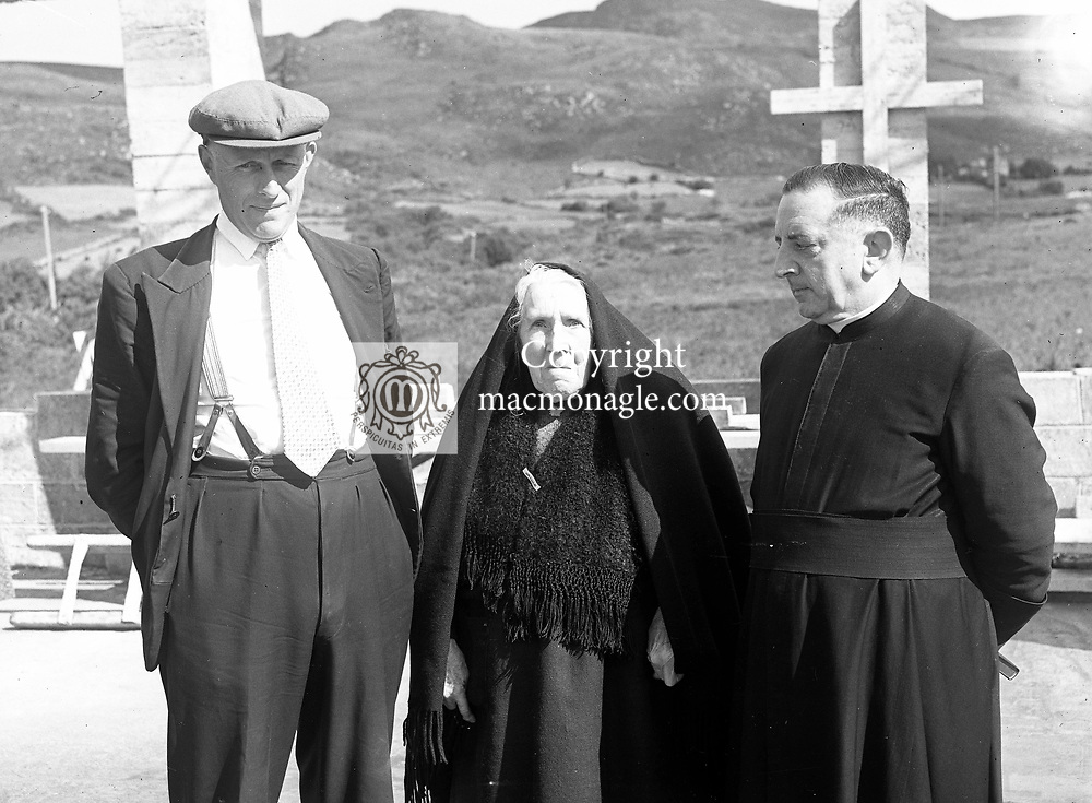 Peig Sayers from The Blasket Islands in 1930's..Picture by Daniel MacMonagle