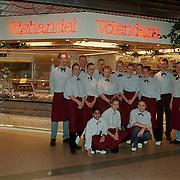 Volendammer vishandel Hilvertshof personeel voor de winkel