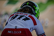 #911 (SHRIEVER Bethany) GBR at Round 1 of the 2020 UCI BMX Supercross World Cup in Shepparton, Australia