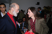 Prince Michael of Kent and Bettina von Hase.  Blood Wedding Post - performance party. Count Christophe Gollut's annual fundraising Gala for the Almeida. Islington. London. 17 May 2005. ONE TIME USE ONLY - DO NOT ARCHIVE  © Copyright Photograph by Dafydd Jones 66 Stockwell Park Rd. London SW9 0DA Tel 020 7733 0108 www.dafjones.com