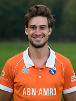BLOEMENDAAL -  Florian Fuchs,   Heren I, seizoen 217-2018. COPYRIGHT KOEN SUYK