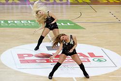 Dragon Ladies during basketball match between KK Helios Domzale and KK Union Olimpija in Final of Spar Slovenian Cup, on February 13, 2011 in Sportna dvorana Poden, Skofja Loka, Slovenia. (Photo By Vid Ponikvar / Sportida.com)