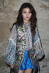Chun Xia attending the Louis Vuitton show as part of the Paris Fashion Week Womenswear Fall/Winter 2018/2019 held at Le Louvre, in Paris, France, on march 05, 2018, France. Photo by Jerome Domine/ABACAPRESS.COM