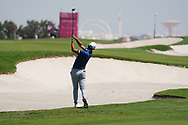 Jason Scrivener (AUS) on the 2nd during Round 2 of the Commercial Bank Qatar Masters 2020 at the Education City Golf Club, Doha, Qatar . 06/03/2020<br /> Picture: Golffile | Thos Caffrey<br /> <br /> <br /> All photo usage must carry mandatory copyright credit (© Golffile | Thos Caffrey)