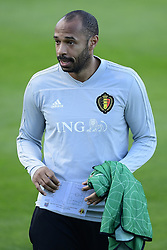 October 11, 2018 - Bruxelles, Belgique - Thierry Henry ass. coach of Belgian Team pictured during a training session prior to the UEFA Nations League match between Belgium and Switzerland (Credit Image: © Panoramic via ZUMA Press)