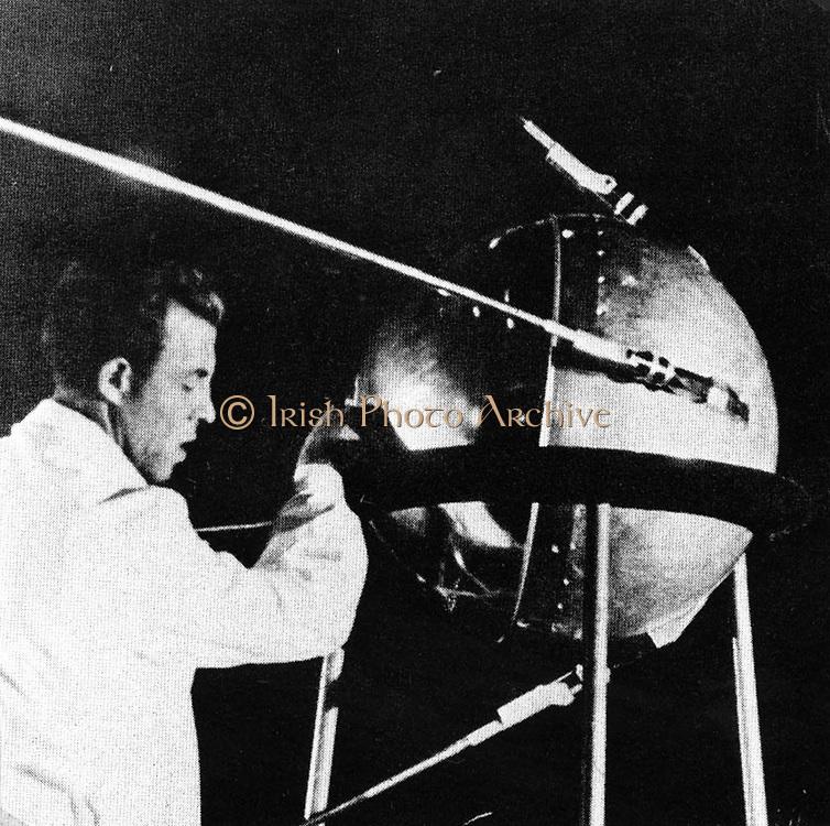Sputnik I the first space satellite