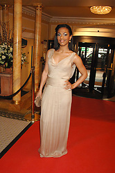 Freema Agyeman at the South Bank Show Awards held at The Dorchester, Park Lane, London on 29th January 2008.<br />