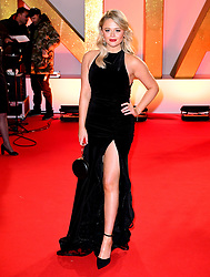 Emily Atack attending the National Television Awards 2019 held at the O2 Arena, London.