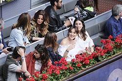 May 14, 2018 - Madrid, Spain - Tamara Falcó and  Alessandra de Osma  during day 9 of the Mutua Madrid Open tennis tournament at the Caja Magica in Madrid, Spain. on May 12, 2018 in Madrid, Spain  (Credit Image: © Oscar Gonzalez/NurPhoto via ZUMA Press)
