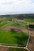 Nederland, Zeeland, Walcheren, 09-05-2013; Tuin van Walcheren, westelijk deel van het eiland, zwaar beschadigd tijdens de Tweede Wereldoorlog. Na de oorlog hersteld tijdens de wederopbouw. Het oorspronkelijke zeer kleinschalige landschap is op ruimere grondslag gereconstrueerd. <br /> Garden of Walcheren, western part of the island, heavily damaged during World War II. Rebuild after the war, the original very small scale landscape was reconstructed on a wider base.<br /> luchtfoto (toeslag op standard tarieven)<br /> aerial photo (additional fee required)<br /> copyright foto/photo Siebe Swart