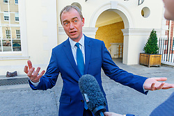 © Licensed to London News Pictures. 22/05/2017. London, UK. Liberal Democrat leader TIM FARRON and Former visits the HQ of Graze, healthy snacks company in Richmond, west London on Monday 22 May 2017. Photo credit: Tolga Akmen/LNP