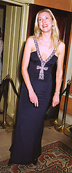 MISS KATRINA SKEPPER, a former close friend of HRH The Duke of York, at a party in London on 4th February 1999.MNY 73