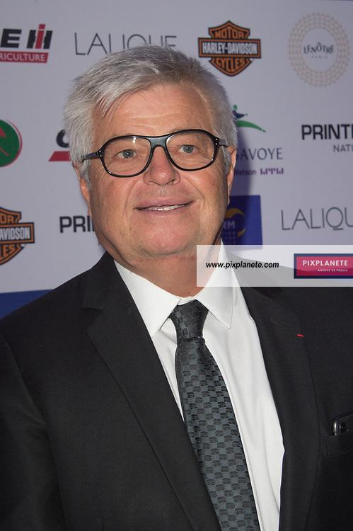 Jean Pierre Barjon président du trop Français Grand Prix d'Amérique 100ans Dimanche 26 Janvier 2020 Hippodrome Paris Vincennes