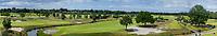 CROMVOIRT - panorama, hole 18 en 1, Bernardus Golf is een golfbaan in Cromvoirt, die in 2018 is geopend. De 18-holes baan is een ontwerp van de baanarchitect Kyle Phillips. De baan is aangewezen voor het Dutch Open, .   COPYRIGHT KOEN SUYK