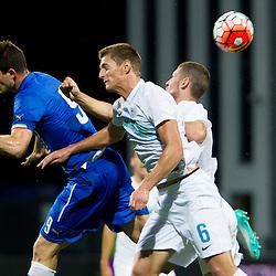 20151008: SLO, Football - UEFA European U-21 Championship Qualification, Slovenia U21 vs Italy U21