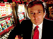 Donald Trump at the opening of an Atlantic City casino.