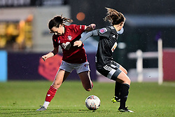 Olivia Chance of Bristol City Charlie Wellings of Bristol City - Mandatory by-line: Ryan Hiscott/JMP - 08/12/2019 - FOOTBALL - Stoke Gifford Stadium - Bristol, England - Bristol City Women v Birmingham City Women - Barclays FA Women's Super League