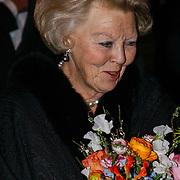 NLD/Amsterdam/20120404 - Opening filmmuseum Eye, vertrek Koningin Beatrix