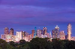 Downtown Dallas, Texas, USA.