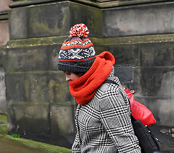 Pictured: Natalie McGarry leaves court after seeing her conviction quashed. She faces a retrial in the new year.<br /> <br /> Former SNP MP Natalie McGarry appears at the Court of Criminal Appeal in Edinburgh, at the start of her appeal against her conviction for embezzling almost over £25,000 GBP from several independence campaign organisations.<br /> <br /> © Dave Johnston / EEm