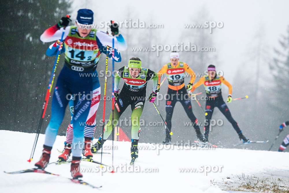Anamarija Lampic (SLO) during the ladies team sprint race at FIS Cross Country World Cup Planica 2019, on December 22, 2019 at Planica, Slovenia. Photo By Peter Podobnik / Sportida