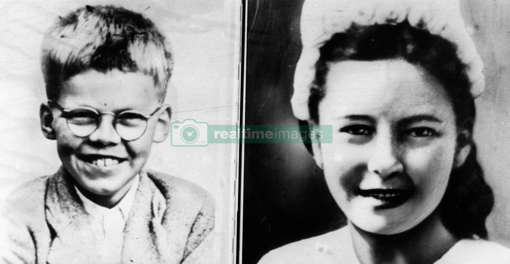A composite picture of 12 year old Keith Bennett (L) and 16 year old Pauline Reade, who went missing around 30 years ago at the time of the Moors Murders. Myra Hindley and her lover Ian Brady were jailed in 1966 for the Moors murders.  * Pauline Read's body was found on Saddleworth Moor, it was confirmed 03/07/1987.