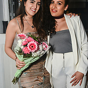 Claudia Sowaha and Taz Tazzy attend The Bachelor UK 2019 launch night - The girls private screening on Channel 5 at Beach Blanket Babylon on 4 March 2019, London, UK