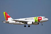 CS-TTP TAP - Air Portugal Airbus A319-111 at Malpensa (MXP / LIMC), Milan, Italy