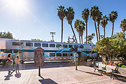 Metrolink Train Stopped at The Capistrano Depot San Juan Capistrano Station