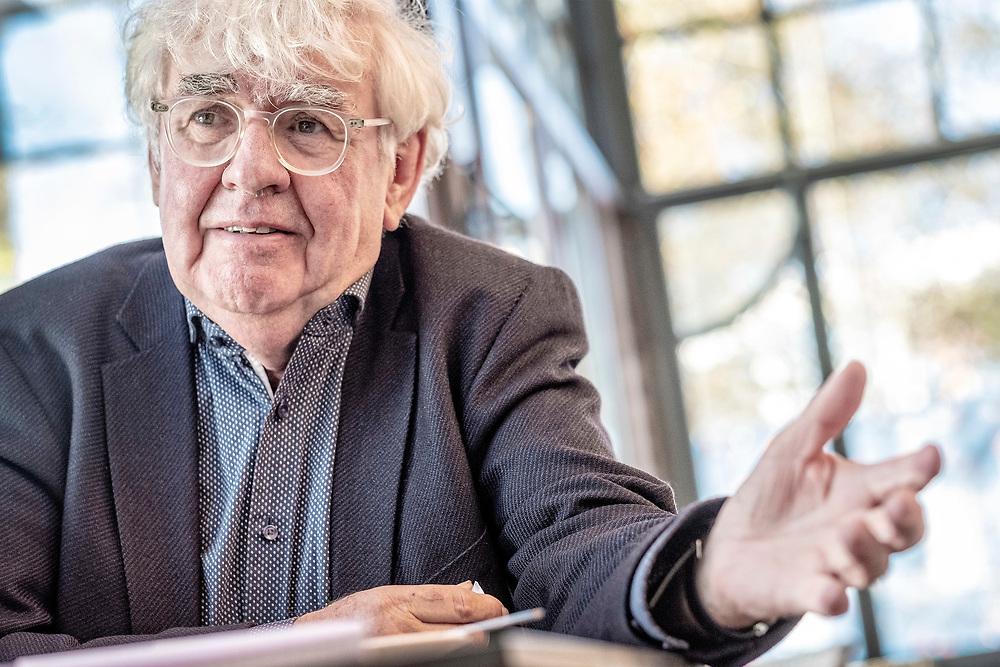 Netherlands. Leeuwarden, 08-11-2018. Photo: Patrick Post. Portrait van Geert Mak.
