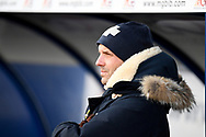 Portrait of Bristol Rovers manager Paul Tisdale during the EFL Sky Bet League 1 match between Oxford United and Bristol Rovers at the Kassam Stadium, Oxford, England on 23 January 2021.