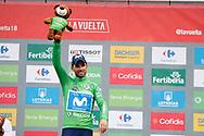 Alejandro Valverde (ESP - Movistar) podium during the 73th Edition of the 2018 Tour of Spain, Vuelta Espana 2018, 20th stage Andorra Escaldes Engordany - Coll de la Gallina 97.3 km on September 15, 2018 in Spain - Photo Luca Bettini / BettiniPhoto / ProSportsImages / DPPI