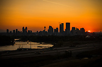 Calgary Skyline @ Sunset