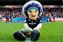 Big Chief prior to kick off - Mandatory by-line: Ryan Hiscott/JMP - 19/10/2019 - RUGBY - Sandy Park - Exeter, England - Exeter Chiefs v Harlequins - Gallagher Premiership Rugby