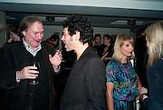JAMES BIRCH; TIM NOBLE, Polly Morgan 30th birthday. The Ivy Club. London. 20 January 2010