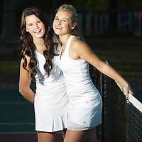 Hinsdale South tennis players