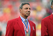 30 May 2012: 2012 National Soccer Hall of Fame inductee Tony DiCicco was honored on the field before the game. The Brazil Men's National Team defeated the United States Men's National Team 4-1 at Fedex Field in Landover, Maryland in an international friendly soccer match.