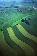 PA landscapes, Aerial Photograph, Berks Co., Farm, Pennsylvania