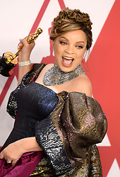 """Ruth Carter, winner of the Best Costume Design Award for """"Black PantherÓ at the 91st Annual Academy Awards (Oscars) presented by the Academy of Motion Picture Arts and Sciences.<br /> (Hollywood, CA, USA)"""