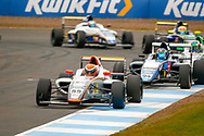 Carter Williams(USA) JHR Developments during the FIA Formula 4 British Championship at Knockhill Racing Circuit, Dunfermline, Scotland on 15 September 2019.