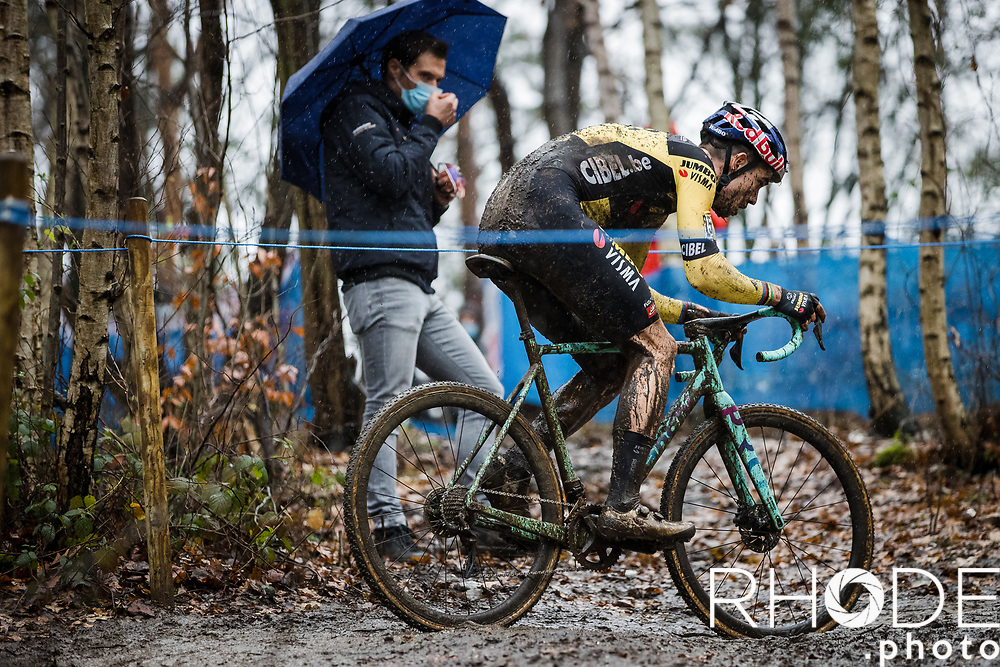 Wout Van Aert (BEL/Jumbo-Visma) <br /> <br /> X2O Badkamertrofee Herentals 2020<br /> Men Elite Race<br /> <br /> ©RhodePhotoMedia