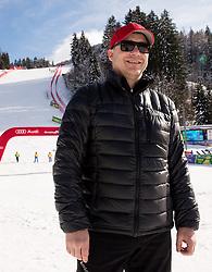 Jure Franko after the 9th Men's Giant Slalom race of FIS Alpine Ski World Cup 55th Vitranc Cup 2016, on March 4, 2016 in Kranjska Gora, Slovenia. Photo by Vid Ponikvar / Sportida