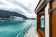 Built in 1941 this old gal retains many of her original features.  The glacier has change much more.