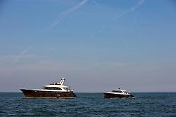Medemblik, the Netherlands, September 8th 2009. Zeelander brown and Z86 together on the ijselmeer.