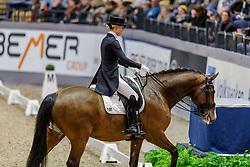 BURFEIND Juliane (GER), Devanto<br /> Neumünster - VR Classics 2020<br /> Preis der Zech Immobilien und des Helenenhofs, Familie Schwiebert<br /> Grand Prix de Dressage - Qualifikation<br /> Championat der Pferdestadt Neumünster - Dressur-Reiter<br /> 14. Februar 2020<br /> © www.sportfotos-lafrentz.de/Stefan Lafrentz