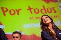 Mediaset presents media coverage of the World Cup soccer in Brazil at Ciudad del Futbol, Madrid. May 27, 2014. (ALTERPHOTOS / Nacho Lopez)